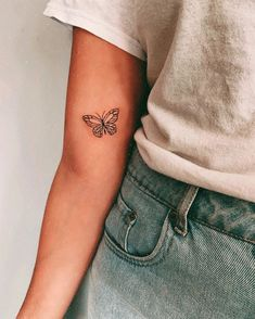 wonderful butterfly tattoo ideas for pretty tattoo lovers 12 ~ my.easy-cook… wonderful butterfly tattoo ideas for pretty tattoo lovers 12 ~ my.easy-cook…,ink wonderful butterfly tattoo ideas for pretty tattoo lovers Mini Tattoos, Dainty Tattoos, Dream Tattoos, Little Tattoos, Future Tattoos, Body Art Tattoos, Tatoos, Tattoo Drawings, Easy Tattoos