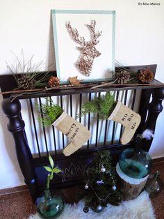 DIY Botas navideñas