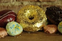 The Weekender   24-Karat Gold Donuts, New Tacos and Shiny, Shiny Leather