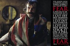 Gangs of New York - Bill the Butcher Quote Poster Print (36 x 24)