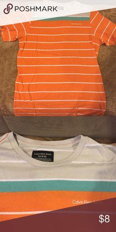 Calvin Klein boys top XL Great condition Calvin Klein Shirts & Tops