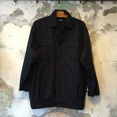 BauBau shop - Raf Simons SS 2002 black jacket