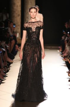 this is how you wear black | Elie Saab Haute Couture Fall Winter 2012-13
