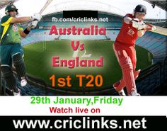 29th January,Wednesday..1st T20 between AUS vs Eng will be played at Hobart..Aus so keen to win T20 eris also.other hand eng hope that they are a good side for T20.Match will be start at 1.35 PM PST.2.05 PM IST..Watch live action only on http://www.criclinks.net/ #AUSvsEng