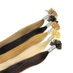 100 1g Remy Echthaar Keratin Bondings Haarverlängerung Extensions 45cm 50cm 60cm