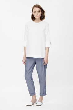 COS RELAXED PLEATED TROUSERS #COS #RELAXEDPLEATEDTROUSERS