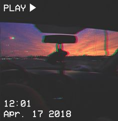 M O O N V E I N S 1 0 1 #vhs #aesthetic #car #sunrise #sunset #purple #pink #orange #glitch If you want a vhs edit please message me the following: -A picture (which you want to be edited) -A time and date -A certain quote/name (optional)