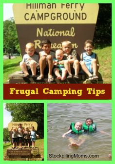 Frugal Camping Tips to save you time and money!