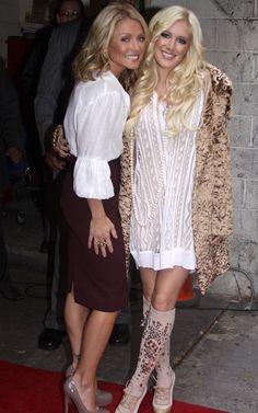 ♥♥♥Kelly Ripa♥♥♥ Heidi Montag with Kelly Ripa | GossipCenter - Entertainment News Leaders