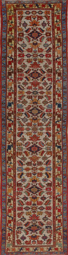 Matt Camron Rugs & Tapestries - Matt Camron Rugs & Tapestries - Antique Persian Serapi Rug - 18199HM