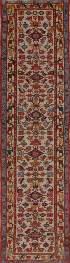 Matt Camron Rugs & Tapestries - Matt Camron Rugs & Tapestries - Antique Persian Serapi Rug - 18199HM