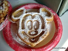 Disney snack credit use: Another option for turning your snack credit into breakfast is to go to the Sleepy Hallow and order a big Mickey Waffle and sit next to the castle and watch all the happy people start their day at Disney World