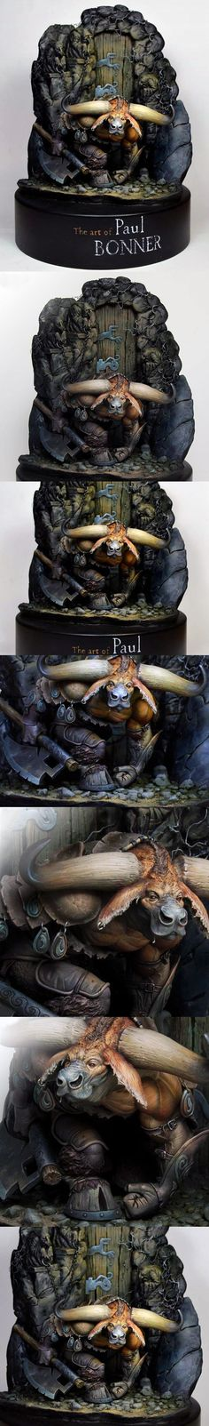 The Art of Paul Bonner. Sculpted by Joaquin Palacios. Painted by Marc Masclans