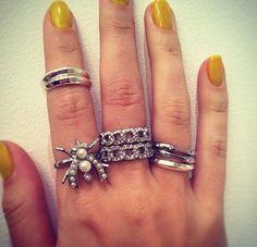 Rings  www.chloeandisabel.com/boutique/Liz