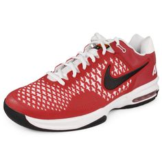 72750cf5dd3 Men`s Air Max Cage Team Tennis Shoes Maroon White Nike Tights