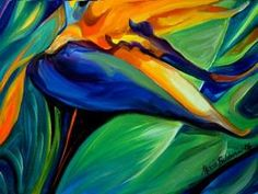 Detail Image for art BIRD OF PARADISE 06