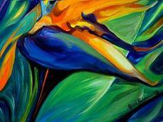 Detail Image for art BIRD OF PARADISE 06