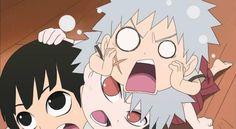 Tobirama and hashirama Naruto Sd, Naruto Boys, Naruto E Boruto, Naruto Cute, Naruto Funny, Anime Naruto, Anime Chibi, Anime Manga, Kawaii Anime