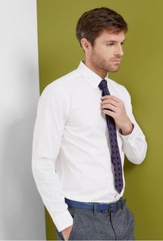 Casual to smart - this Ted Baker cotton shirt can go from day to night.