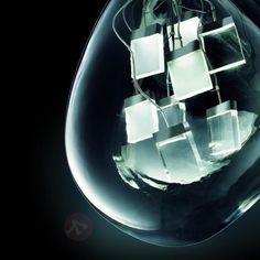 Designerska lampa wisząca LED Spore 6547029