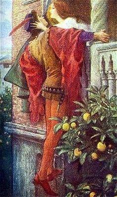 Sir Thomas Francis Dicksee:Romeo and Juliet II