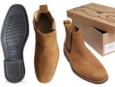 Bull Skin Anatomic & Co Natal Mens Chelsea Boots from Arthur Knight
