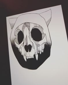 Tattoo Artists, Markers, Artworks, Skull, Tattoos, Sharpies, Tatuajes, Tattoo, Sharpie Markers
