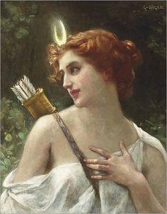 Diana, a caçadora GUILLAUME SEIGNAC (Rennes, França, 1870 – Paris, França, 1924)