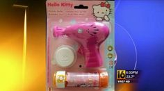 "School labels five-year-old girl a ""terrorist threat"" for saying she would shoot bubbles with a Hello Kitty bubble like this one (click image). >>> Eric Holder did say that he wanted to ""brainwash"" people against guns, ""I've asked the school board to make a part of everyday some kind of anti-violence, anti-gun message - everyday, every school and every level."" http://www.youtube.com/watch?v=gYyqBxD-3xw"