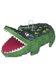 Piniata ALIGATOR 1 Piniata Aligator Wymiary piniaty to ok. 33cm x 46cm Piniata posiada specjalny uchwyt umożliwiający zawieszenie oraz otwór przez który wypełnia się ją słodyczami, drobnymi upominkami, konfetti, karteczkami z życzeniami itp. Maksymalna waga wypełnienia piniaty to ok. 2kg Ta niesamowita piniata idealnie nadaje się na urodziny i każdą imprezę karnawałową Kolorowa piniata stanie się  ...