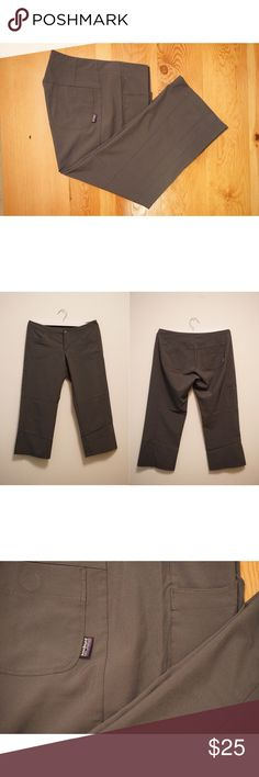 PATAGONIA - HAPPY HIKE CAPRI'S PATAGONIA - HAPPY HIKE CAPRI'S - MEDIUM RISE, 4 WAY STRETCH. Gently Used, No Fading, No Scuffs or Stains. Comes from a Pet-FREE & Smoke-FREE Home. Hung-DRY. Patagonia Pants Capris