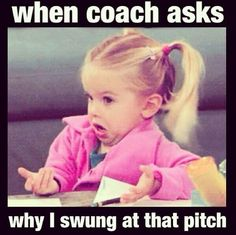 "GameChanger Softball on Twitter: ""Good morning! Here's a funny ..."