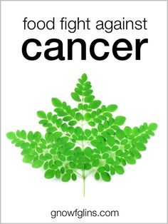 Food Fight Against Cancer |  rediscover foods that help fight cancer. | GNOWFGLINS.com