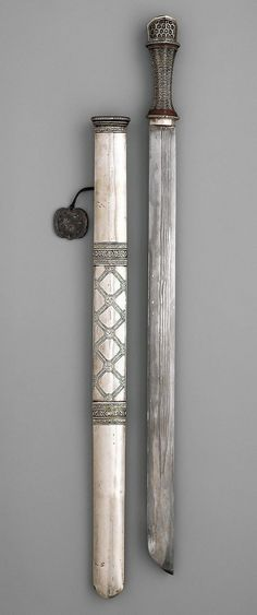 Sword and Scabbard. Dated: circa 1750 - 1850. Culture: Bhutanese.