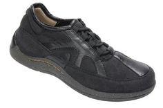 $160 Drew Shoes ROMA Womens Oxfords 7 WW Extra Wide Black Orthotics Diabetic #Drew #Oxfords