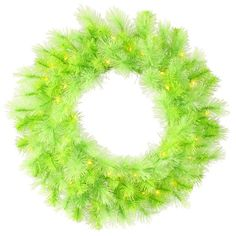Bright lime green tips feature a mixture of traditional PVC tips and long needle, bottle brush tips. The long needle tips create a nice full and lush look to the wreath.FeaturesPre-Lit Lime Green Cashmere Artificial Christmas branch tips. Stick Wreath, Wreath Hanger, Wire Wreath, Artificial Christmas Wreaths, Holiday Wreaths, Holiday Decorations, Snowflake Wreath, Green Tips, Berry Wreath