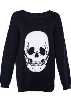 Iron-Fist Skullz-Club - titus-shop.com  #KnitSweatshirt #FemaleClothing #titus #titusskateshop