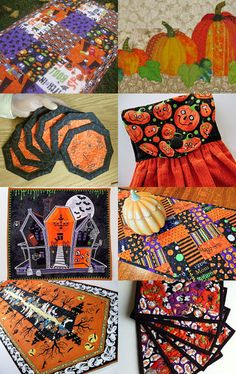 Quiltsy Team Halloween by Jennifer on Etsy--Pinned with TreasuryPin.com