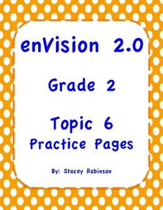 Envision math 20 topic 4 lesson plan envision math 20 envision math 20 topic 6 grade 2 practice sheets fandeluxe Images