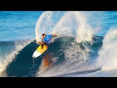 SATA Azores Pro Day 2 Highlights  Via World Surf League   23/09/2015 Santa Barbara delivers good to excellent three-to-four foot waves on the second day of the QS10,000 SATA Azores Pro to run the second round of competition. #Portugal