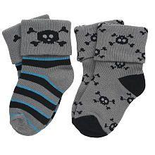 amy coe Boys' Socks - skulls