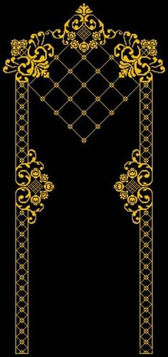This Pin was discovered by AYN Cross Stitch Borders, Cross Stitch Flowers, Cross Stitch Designs, Cross Stitching, Cross Stitch Patterns, Gold Embroidery, Cross Stitch Embroidery, Machine Embroidery, Mantel Azul