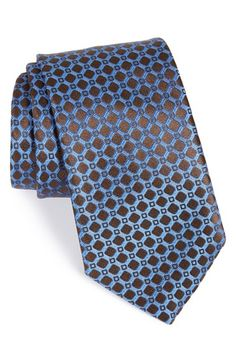 Ermenegildo Zegna Geometric Silk Tie available at #Nordstrom