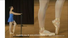 Pointe Work For Beginners - Exercises facing barre