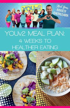 YouV2 Meal Plan. I'll walk you through the plan and show you how by creating a few simple habits, and building on them each week, you'll become a healthier eater and lose weight without strict diets, counting calories