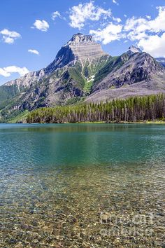 Upper Kintla Lake - Glacier National Park, Montana.