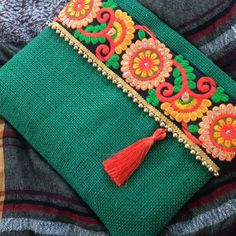 Items similar to Boho bag, Bohemian clutch, Gypsy bag, womens bag, gift for her on Etsy Boho Clutch, Clutch Purse, Floral Clutches, Floral Bags, Couture Main, Diy Sac, Jute Fabric, Creation Couture, Vintage Embroidery