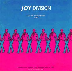Joy Division concert bootleg. Amazing artwork!