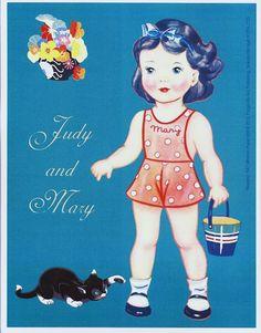Paper Dolls~Judy and Mary - Bonnie Jones - Álbumes web de Picasa