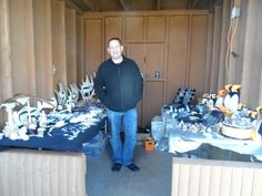 relaxing at elliston puffin fest Moose Antlers, Antler Art, Hobbs, Newfoundland, Hanukkah, Carving, Wreaths, Crafts, Home Decor